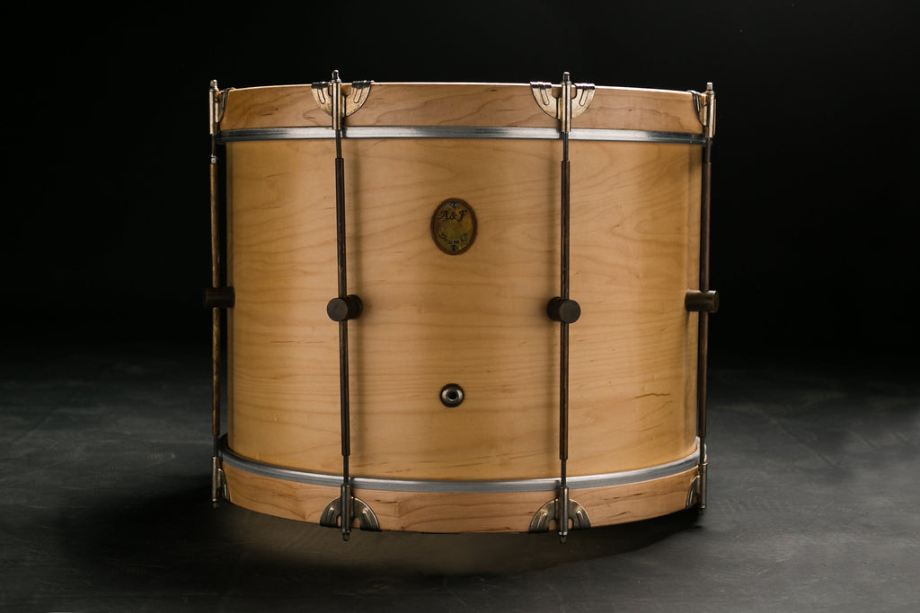 Maple Club Bass Drum - A&F Drum Co