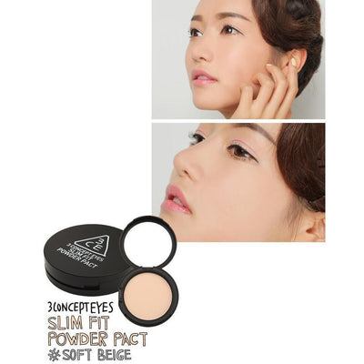 3CE SLIM FIT POWDER PACT SPF22 PA++