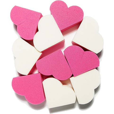ETUDE, My Beauty Tool Heart Shape Puff 20pcs