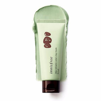 innisfree Jeju volcanic color clay mask Green Cica