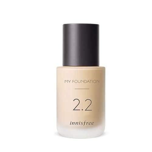 innisfree My Foundation 2.2 Semi-Matte and Natural Cover