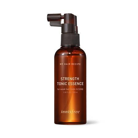innisfree my hair recipe strength tonic essence