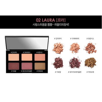 It'S SKIN Life Color Palette EYE 02 LAURA