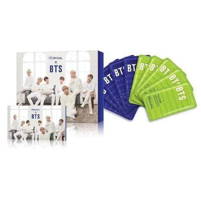 MEDIHEAL x BTS Hydration Care Special Set Mask 10 sheets BTS 14 Photo Cards