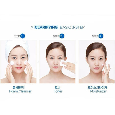 THE FACE SHOP Dr. Belmeur Clarifying Bubble Foam Cleanser