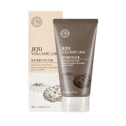 THE FACE SHOP Jeju Volcanic Lava Pore Daily Mask Foam