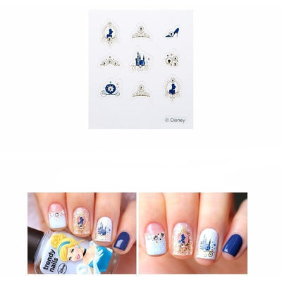 THE FACE SHOP x DISNEY PRINCESSES Trendy Nails Jewel Art Stickers #05 Cinderella