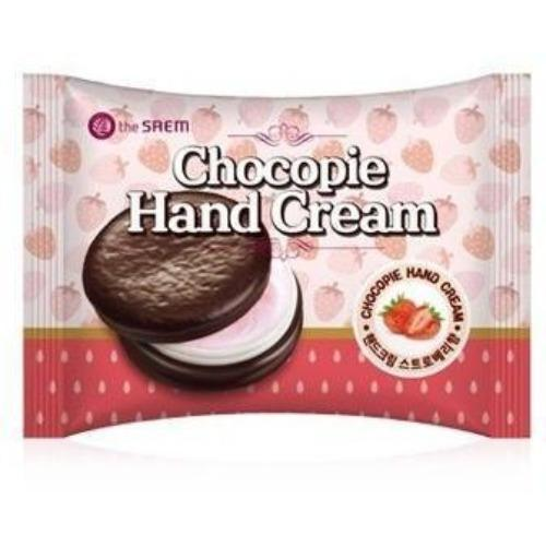 the SAEM Chocopie Hand Cream Strawberry