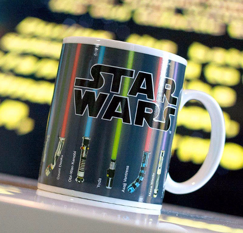 Color Changing Star Wars Lightsaber Mug