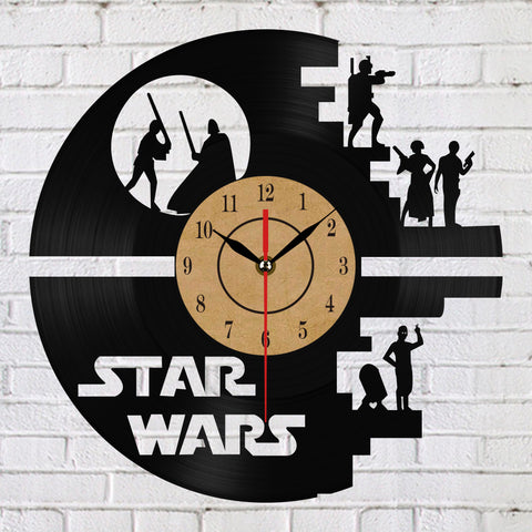 Star Wars Vinyl Clock