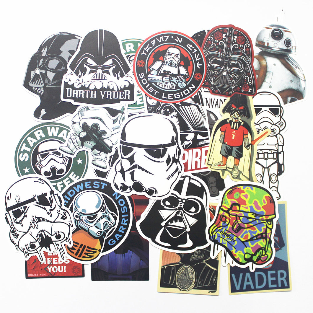 25 Pack - Star Wars Stickers
