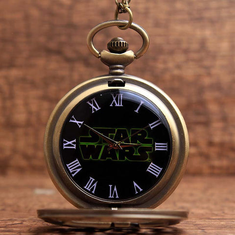 Luxurious Star Wars Pocket Watch