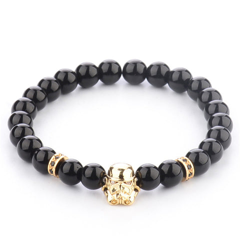 Golden Black Stormtrooper Bracelet