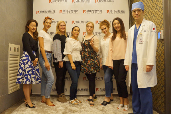 EUNOGO's 1st Beauty Session in Seoul with Ruby Plastic Surgery Clinic