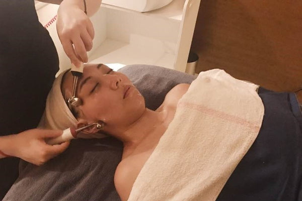 My luxurious lifting facial experience in Seoul