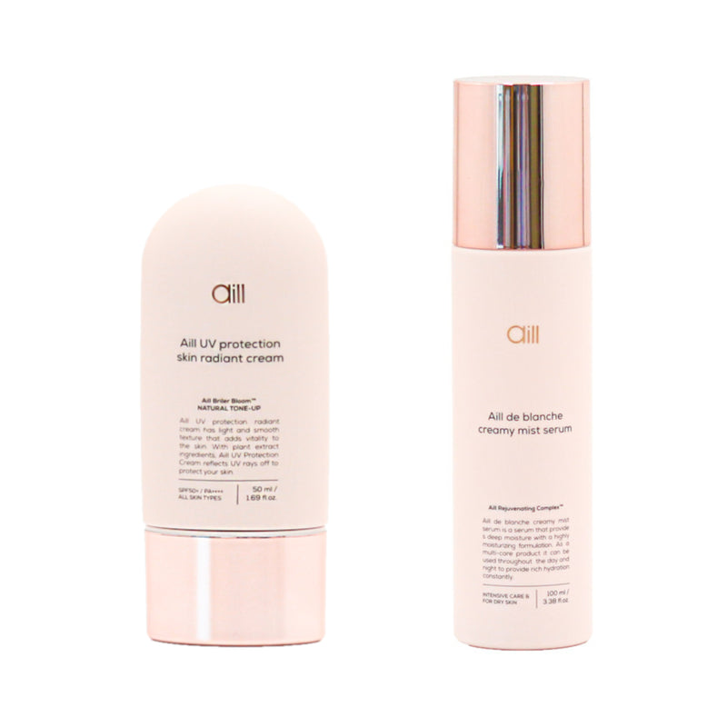 Aill UV Protection Cream and Mist Serum Set