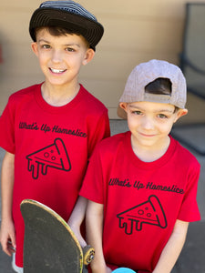 What's Up Homeslice - Kids Tee