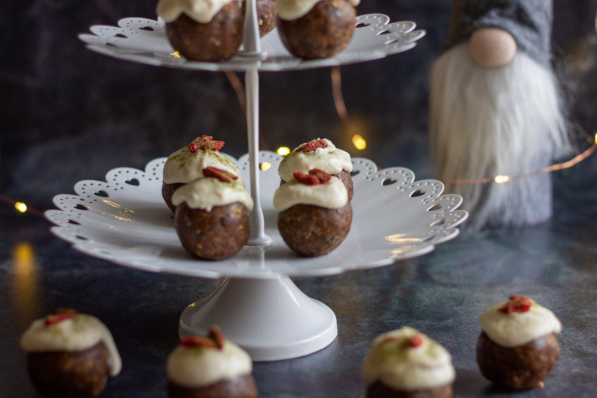 Christmas Pudding Bliss Balls
