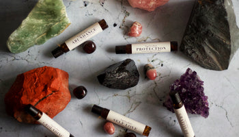 Crystal Infused Intention Oils