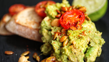 Chickpea and Avocado Guacamole