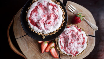 Strawberry Granola Tart