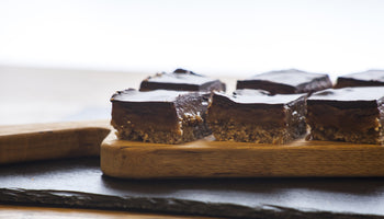 Raw Salted Caramel Slice