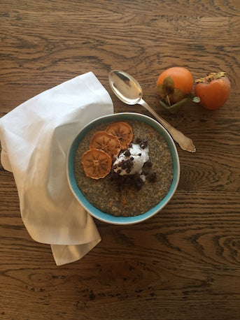 Warm Chia Pudding