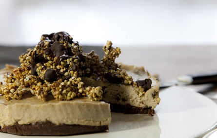 Golden Gaytime Raw Cheesecake