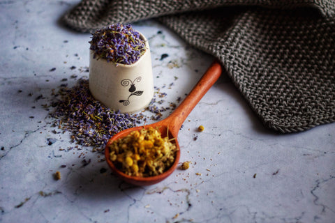 Chamomile & Lavender Facial Steam by Freya's Nourishment