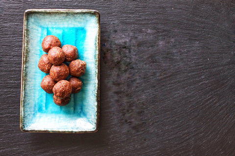 Cacao & Coconut Bliss Balls