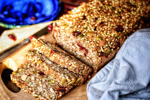 Cranberry Buckwheat Bread