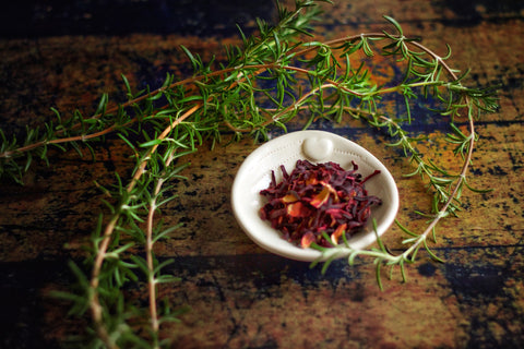 Hibiscus & Rosemary Facial Steam by Freya's Nourishment
