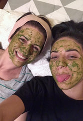 Matcha face mask - kitchen beauty at its best