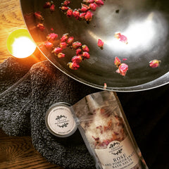 Natural bah salts foot soak