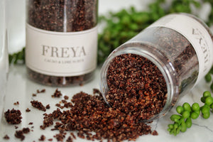 Cacao and Lime Scrub - Freya's Nourishment