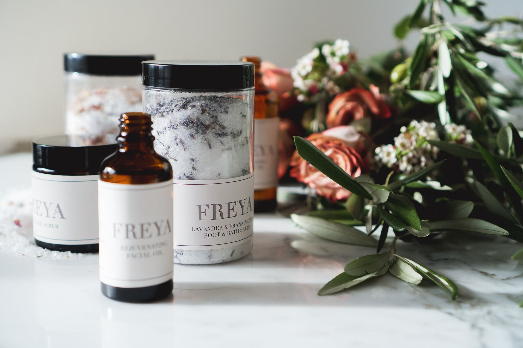 Bath Essentials Collection - Freya's Nourishment