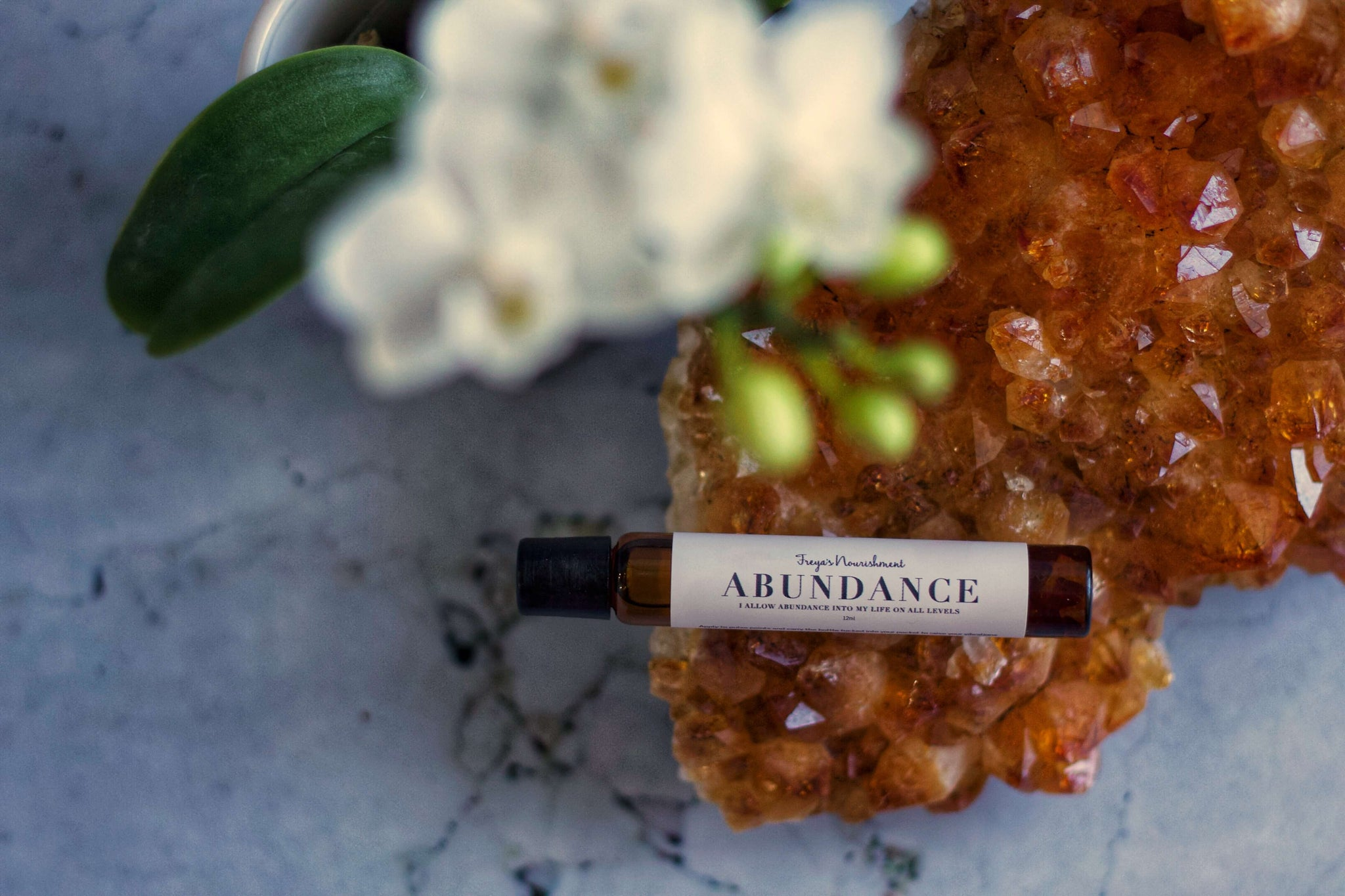 Crystal Infused Intention Oils - Freya's Nourishment