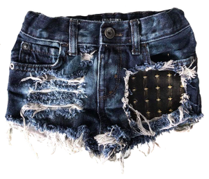 Babes N' Studs Denim Shorties