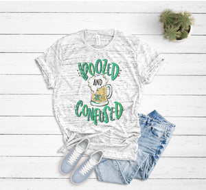 Boozed and Confused St. Patrick's Day Shirt