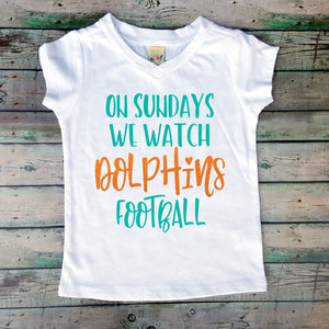 On Sundays We Watch Dolphins Football