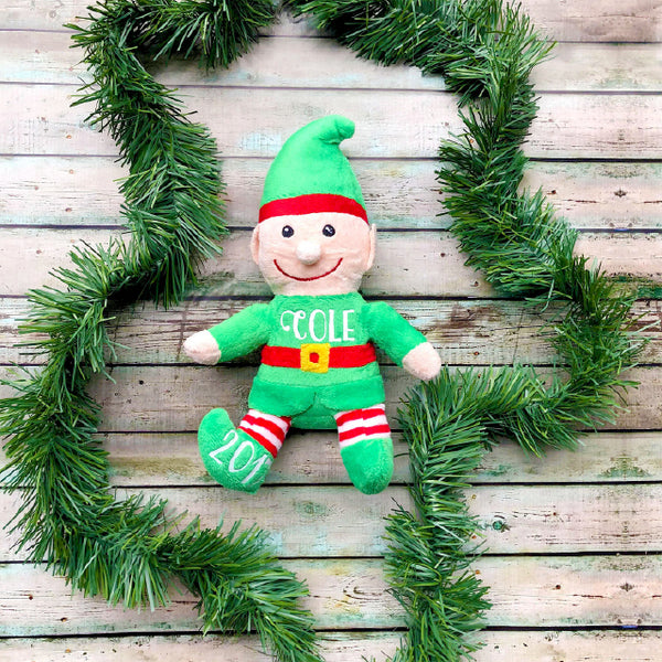 Personalized Elf Plush READY TO SHIP