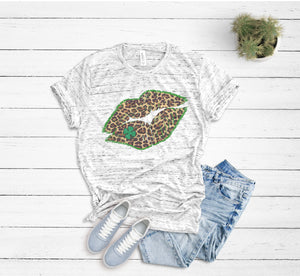 Leopard Lips St. Patrick's Day Shirt