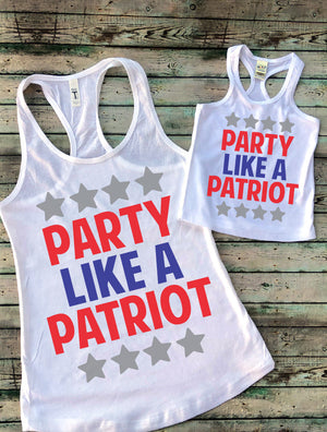 Party Like a Patriot Mommy and Me Set