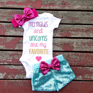 Mermaids and Unicorns Are My Favorite