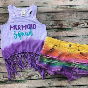 Mermaid Squad Fringe