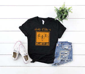 Shake It Like a Polaroid Picture Halloween Shirt