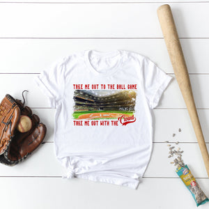 Take Me Out To The Ballgame Baseball Shirt