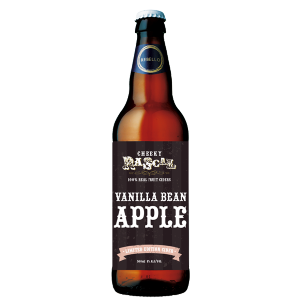 Apple & Vanilla Bean Cleanskin Cider