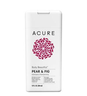 Natural & Organic Shampoo. Acure Body Beautiful Pear & Fig Shampoo 354ml - One Fine Secret