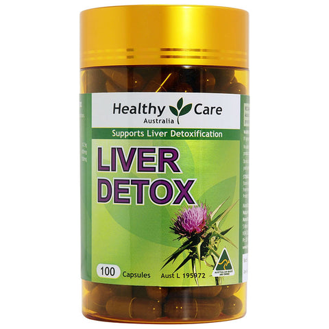 Healthy Care Liver Detox 50 Days 100 Capsules